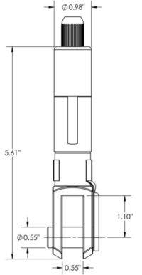 50Z-FORK-14X28-V6B specs