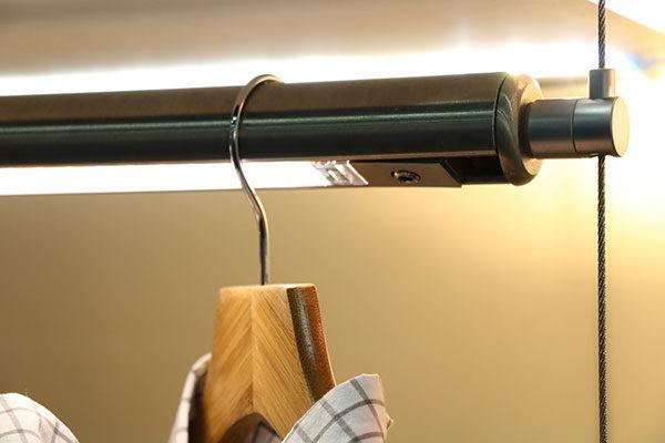 swiveling side mount on rod
